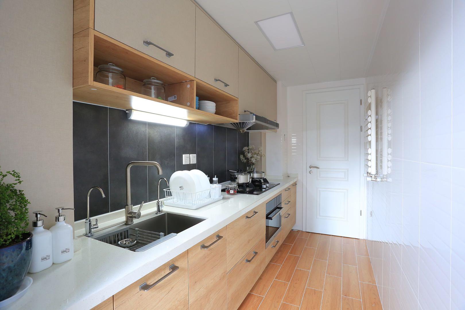 一字型厨房怎么样,看完你就明白了-爱空间装修网