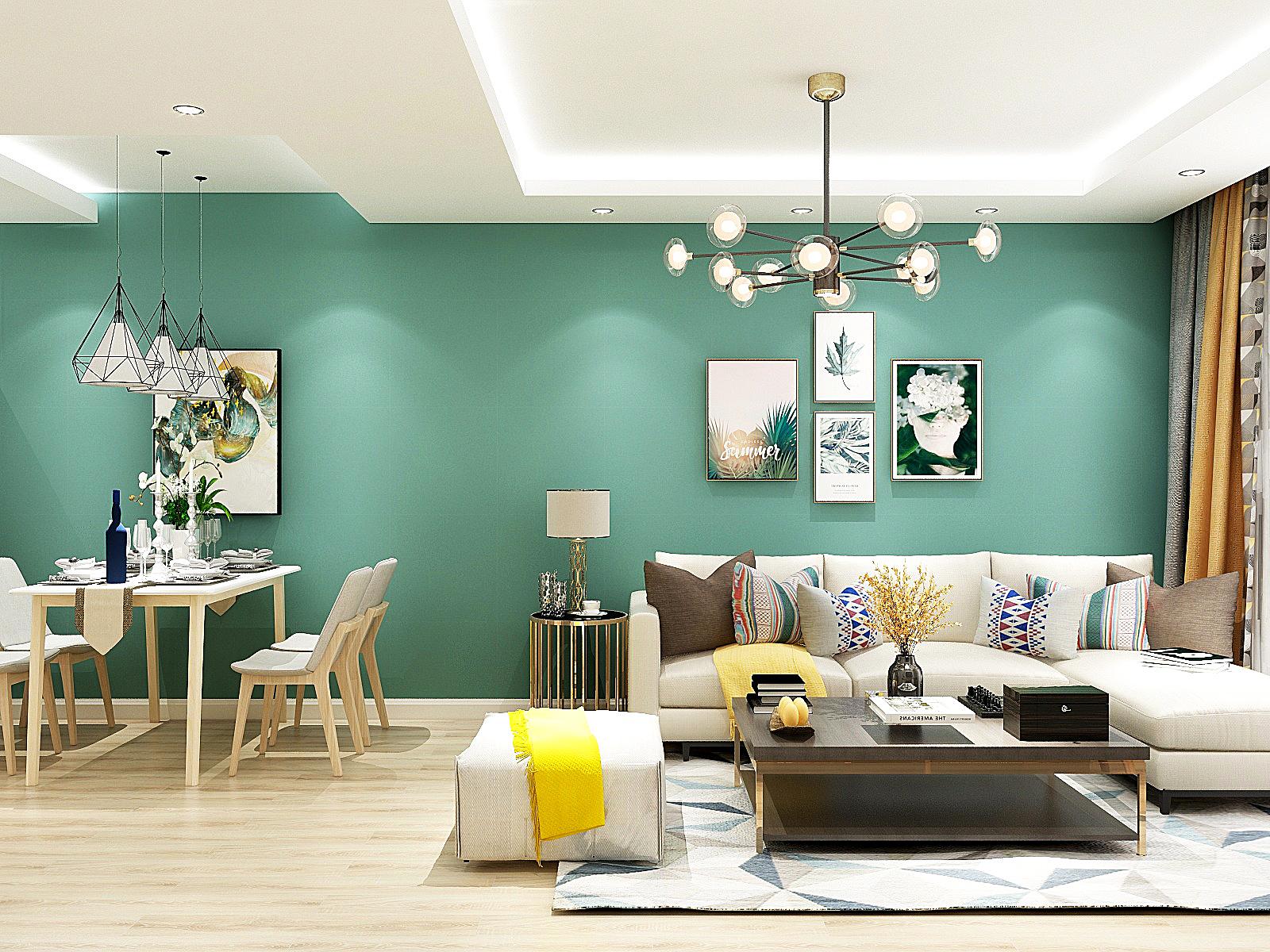 84㎡两居室现代简约风,小户型这样做隐形划分,灵感满分!