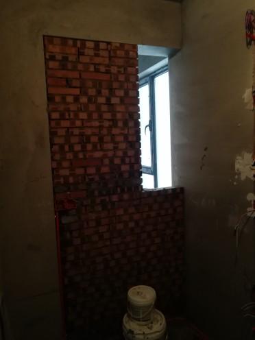 爱空间厨卫墙砖完工_1579954