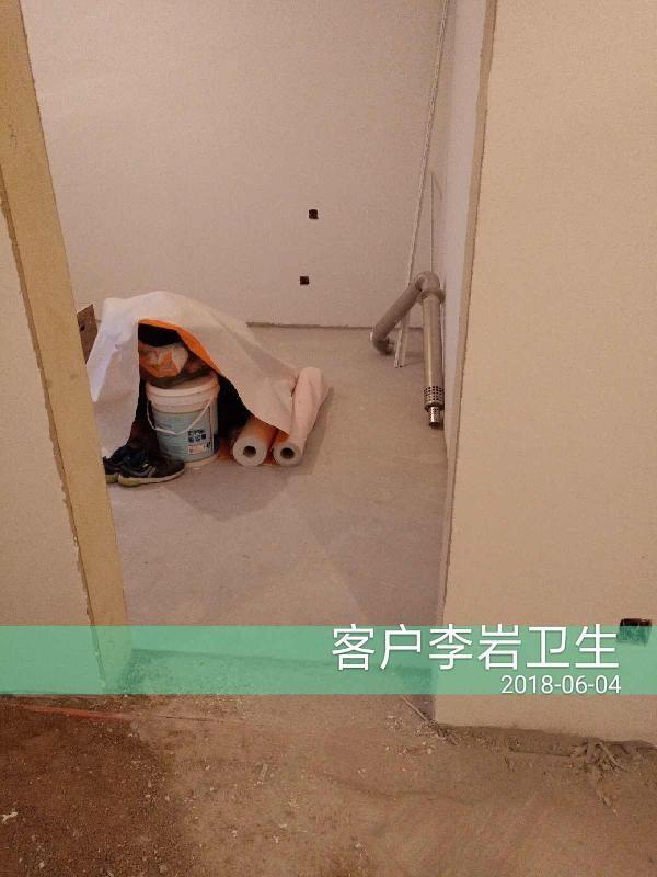爱空间厨卫墙砖完工_2183503