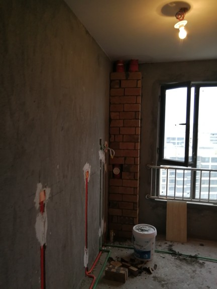 爱空间厨卫墙砖完工_2660610