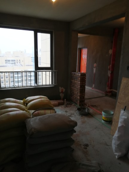 爱空间厨卫墙砖完工_2660611