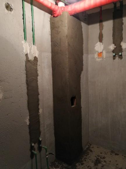 爱空间厨卫墙砖完工_2664497