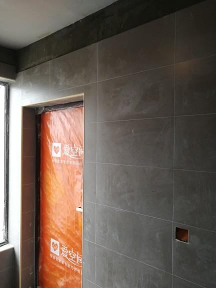爱空间厨卫墙砖完工_2687259