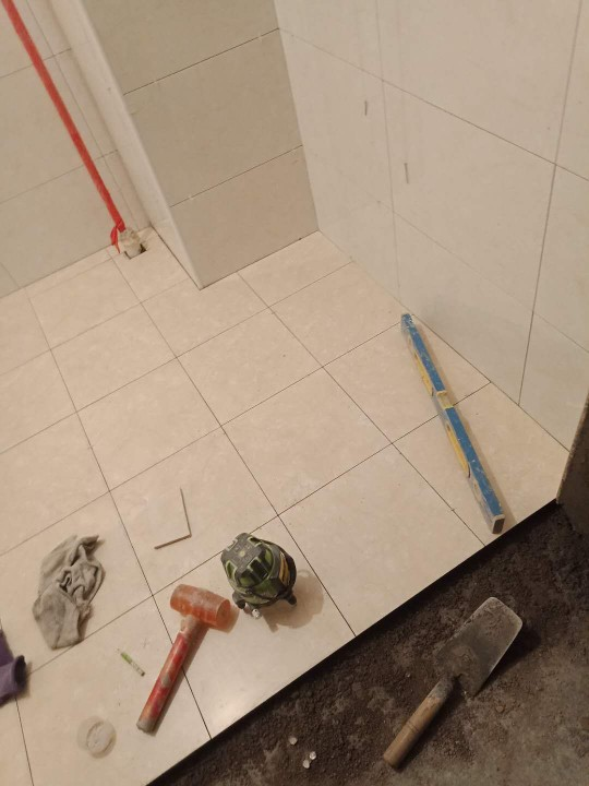 爱空间厨卫墙砖完工_2836641