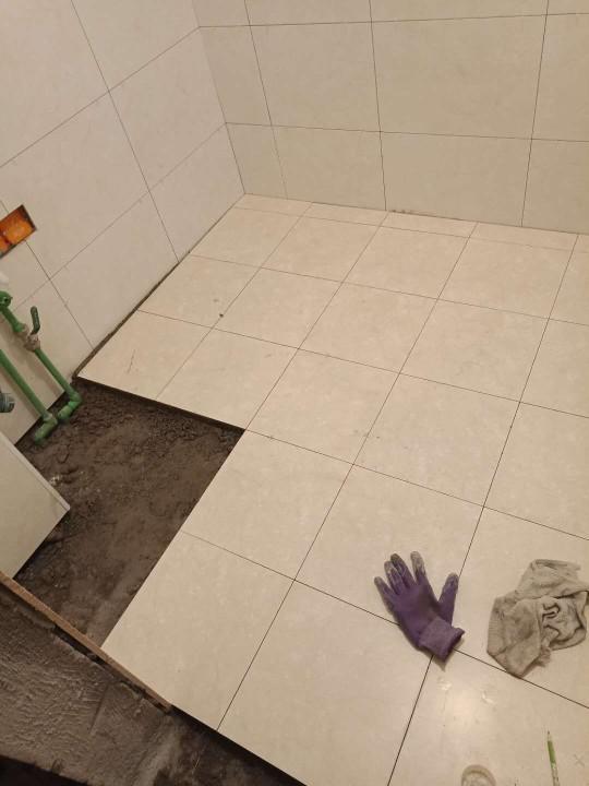 爱空间厨卫墙砖完工_2836642