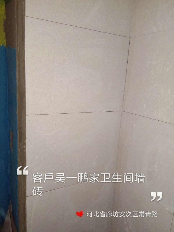 爱空间厨卫墙砖完工_2913501
