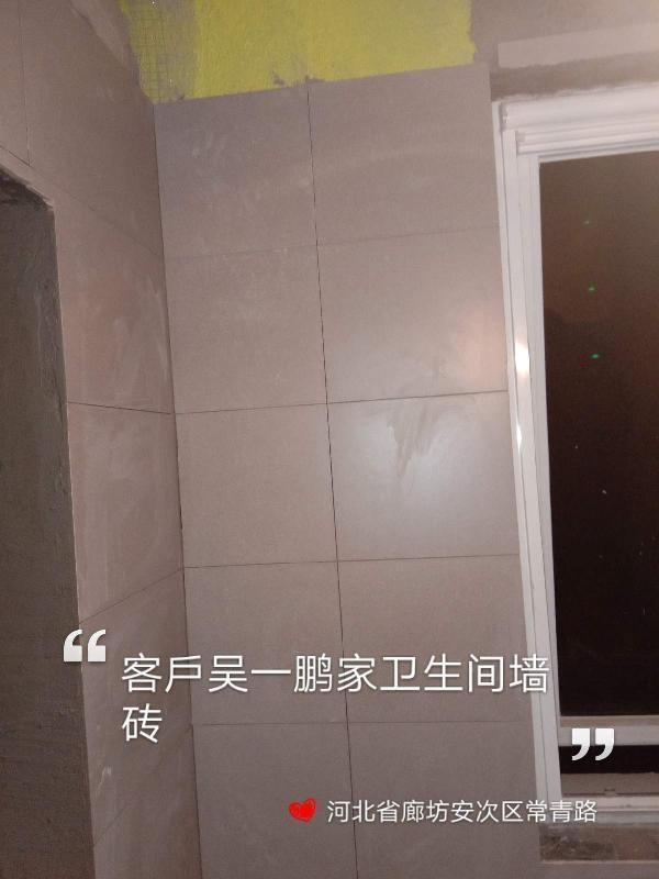 爱空间厨卫墙砖完工_2913502