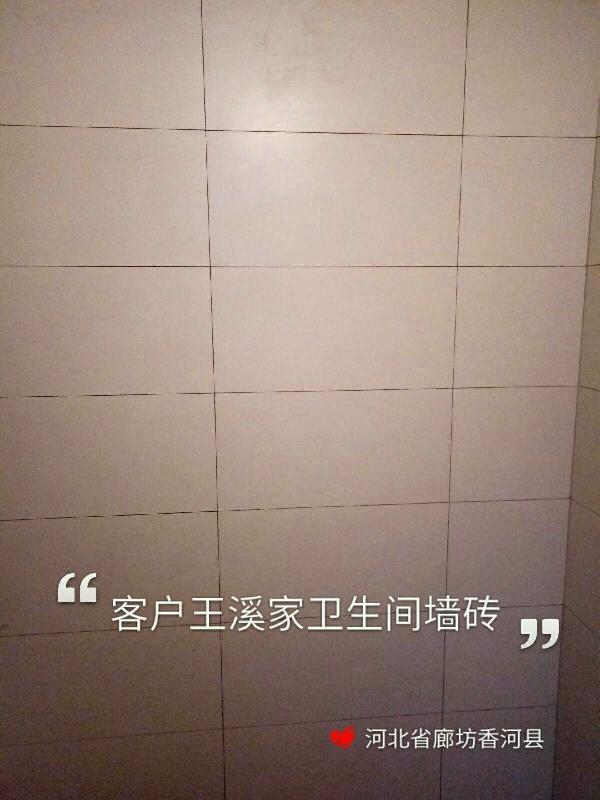 爱空间厨卫墙砖完工_2967881