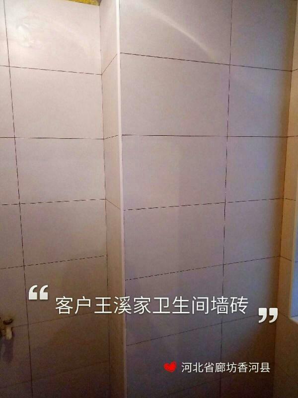 爱空间厨卫墙砖完工_2967883