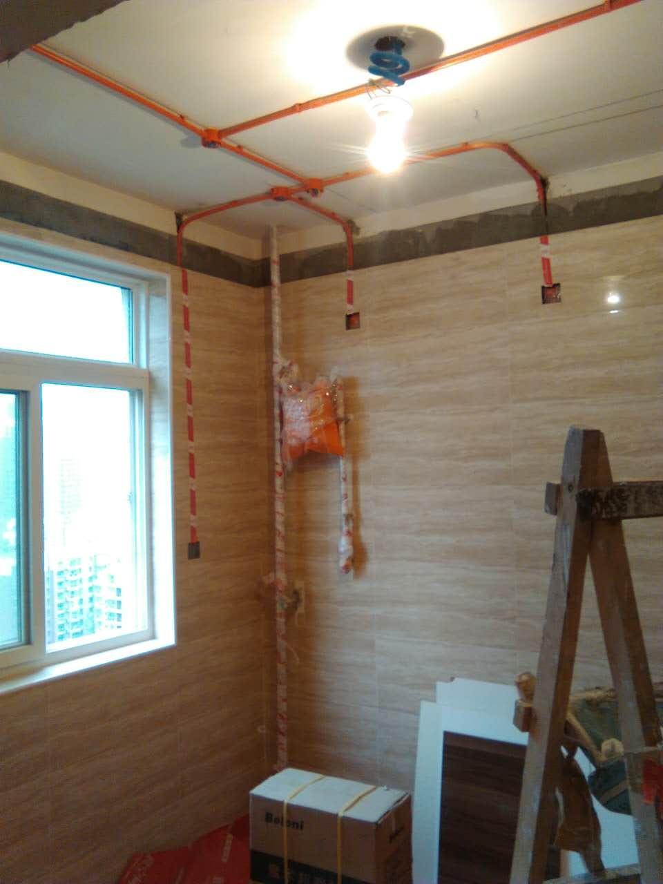 装修竣工阶段_橡木色优雅百平三居 简约设计不简单的家_图片1