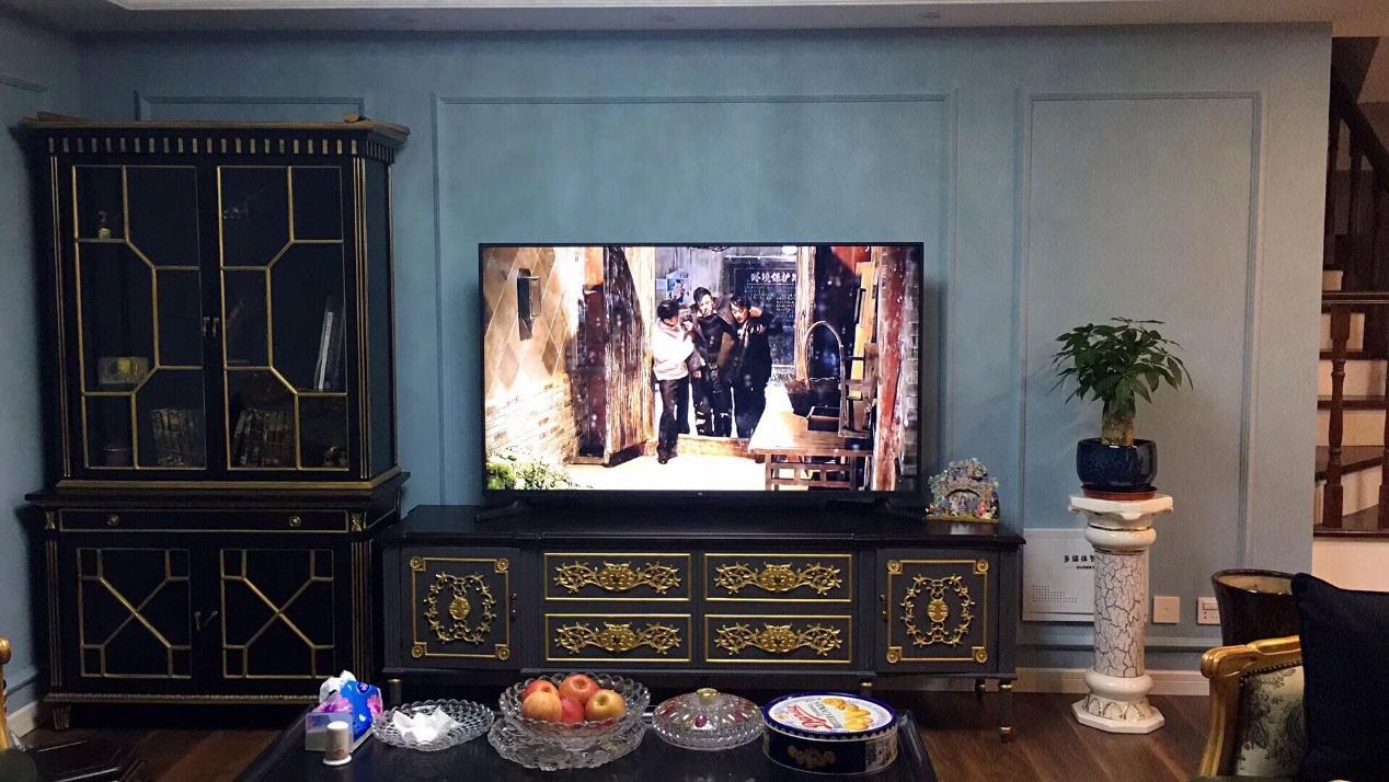 弥漫着古典色彩的在上海的家 专业有规划的装修之旅_1