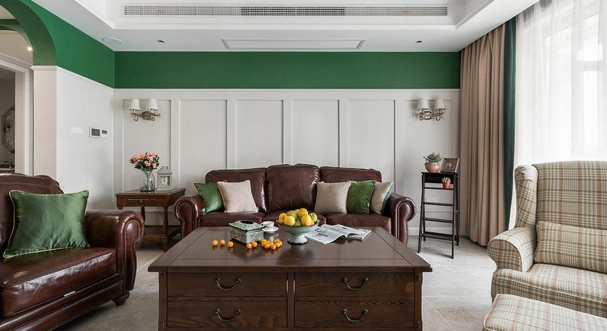客厅作为这个家中活动最多的地方,温馨、舒适必不可少。