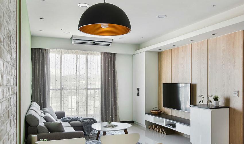揉和屋主喜爱的空间调性与动线脉络,以干净纯粹的空间表情,营造舒适惬意的乐活态度。