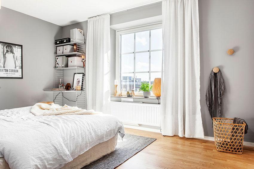 阳光的照射,以及绿植的点缀,给室内添加温暖气息