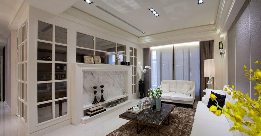 相较醇厚的古典风格,更贴近当代居宅的简约风貌,为讲译设计于风格设定上的耐看斟酌。
