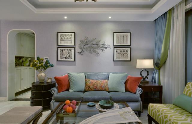 """田园风格的居室布置成""""绿色空间"""",给人创造出自然、简朴、高雅的氛围。"""