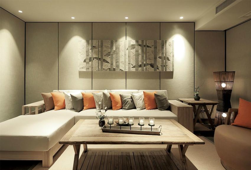 具有私密性的小客厅,是家人小聚的场所,睡前的畅谈,为每一天画下完美的句号。