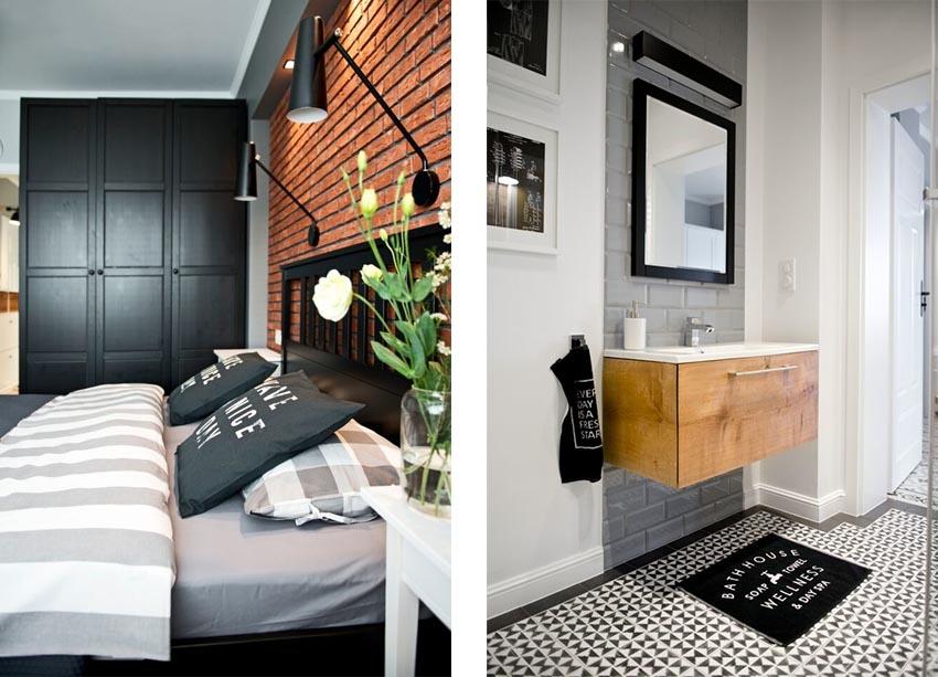 一个屋檐下两种截然不同的风格,这种反差的视觉效果让屋主充满惊喜。