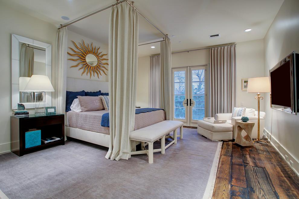 睡床充满温馨,落地窗的处理,都让卧室显得时尚而又唯美,宁静而又脱俗。
