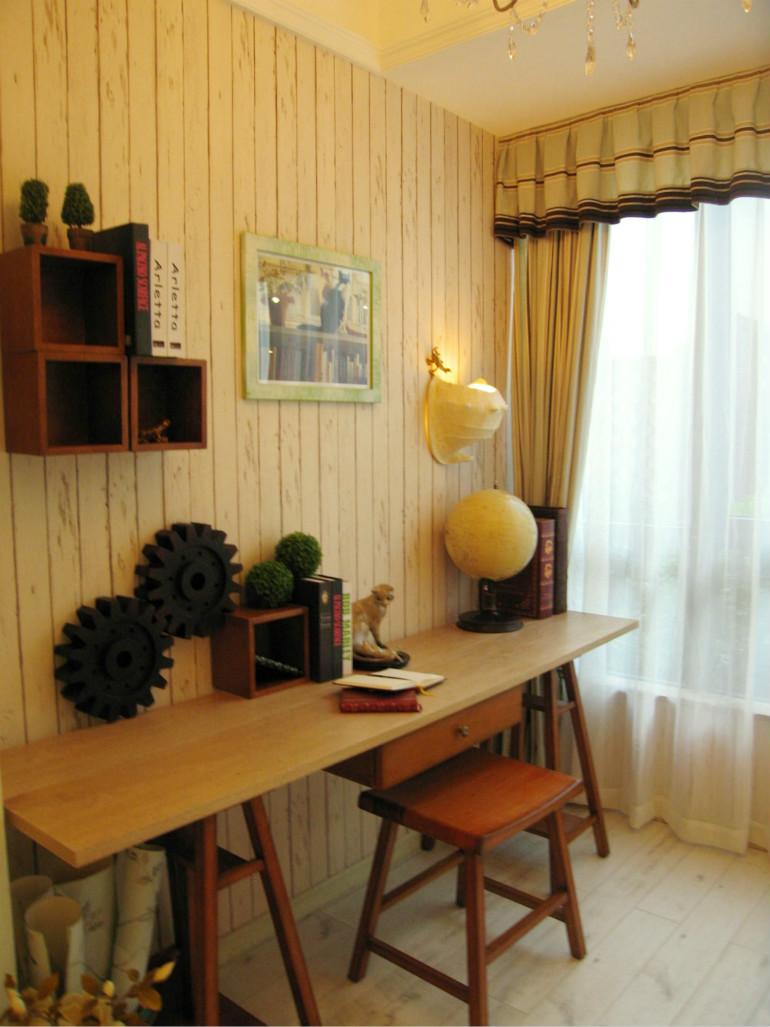木制应该是田园风格装修的典型了吧,木制有家居的质感。