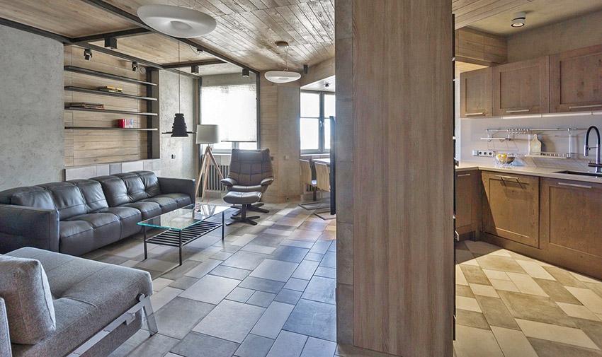 善用空间功能性永远都有好处,即使此案面积不算小,在住宅中还是可见到设计整合的妙处。