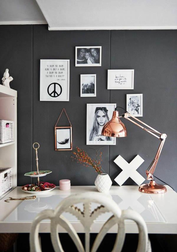 比如随处可见的黑铁要素,灰色的墙面及地板(当然,