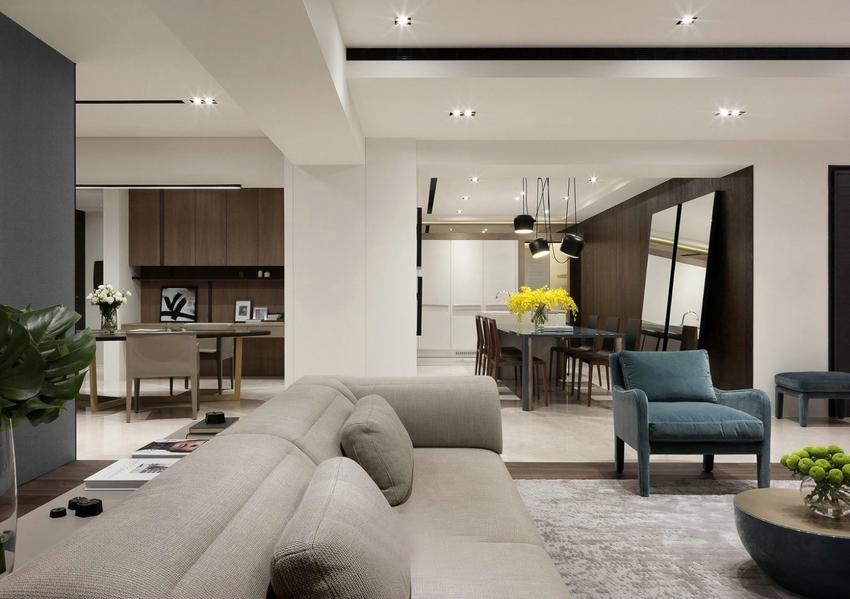 用简约的手法进行室内创造,它更需要设计师具有较高的设计素养与实践经验。