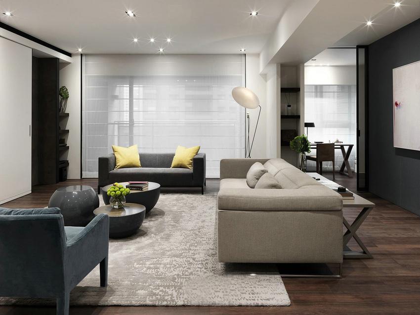 装修极简便是让空间看上去非常简洁,大气。