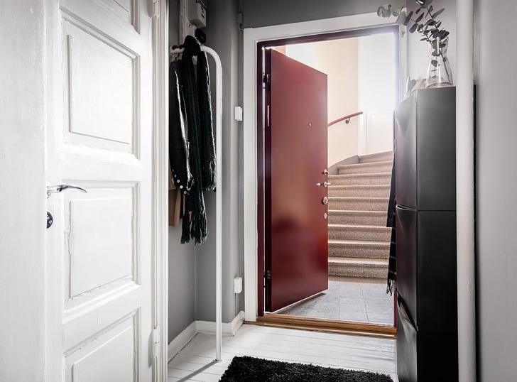 通常情况下,北欧公寓是白色的,但这样的话,屋主难免有些无聊。