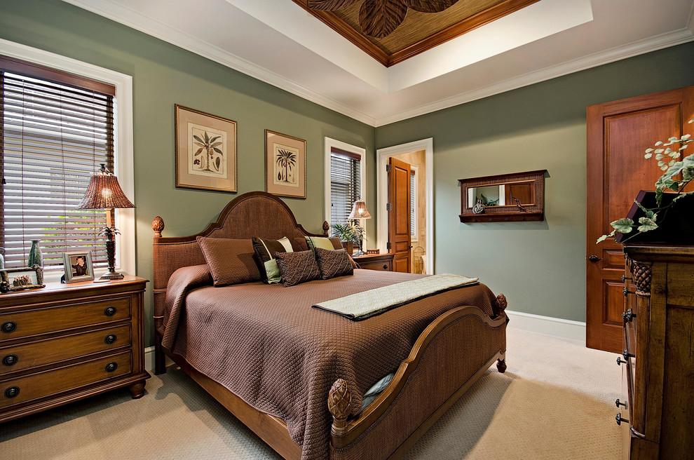 次卧自然朴实的风格,色彩搭配的轻松,舒适,让人有一种回归大自然的感觉。