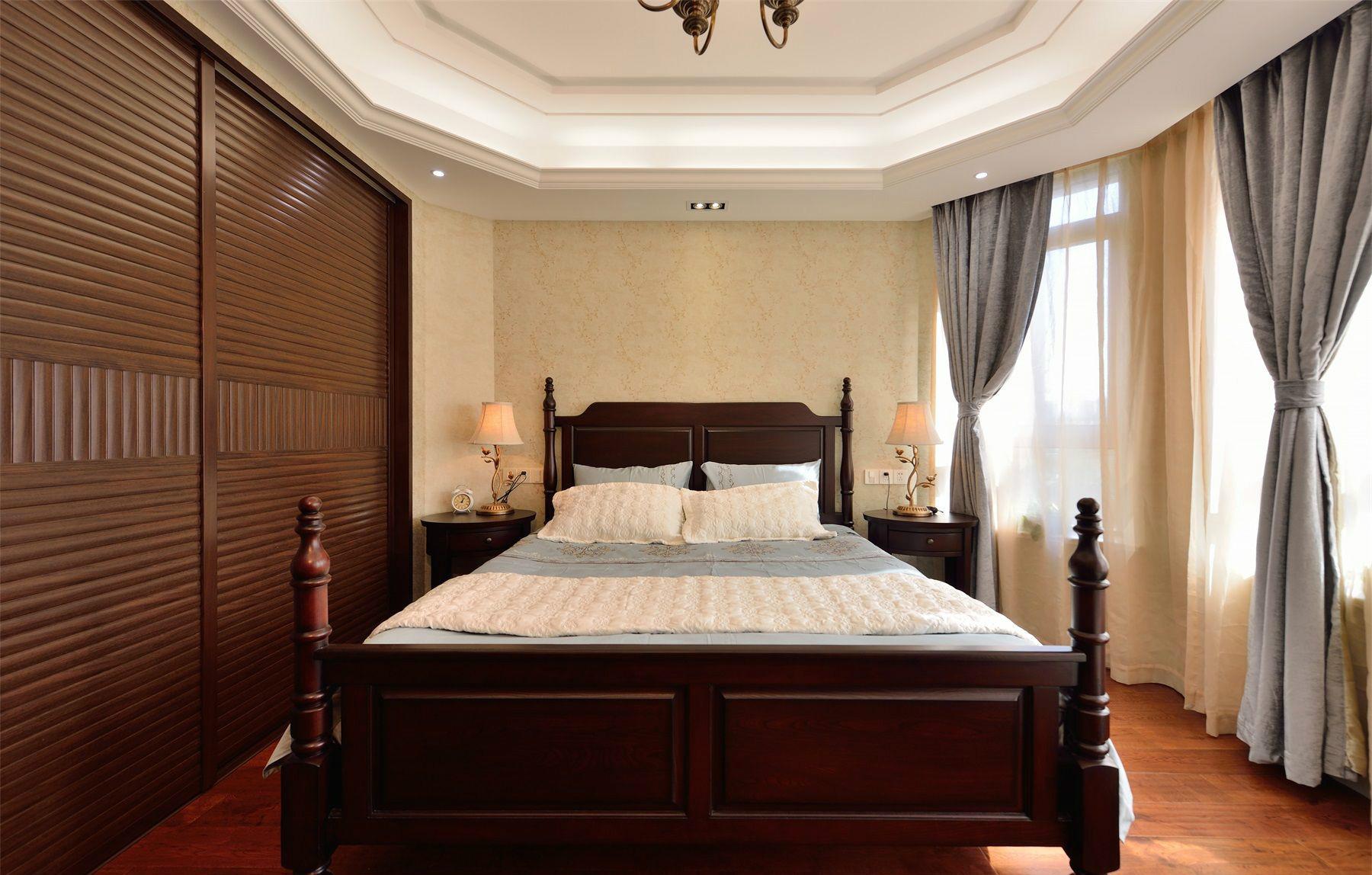 卧室这个私密空间打造成一个释放压力、休憩心灵的驿站