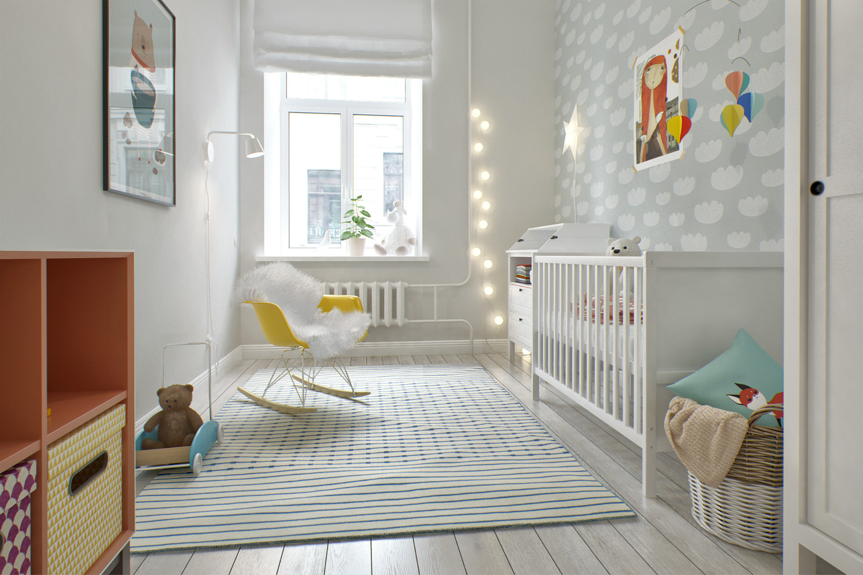 儿童房还是比较欢乐来的嬉戏以及很好的休息场所