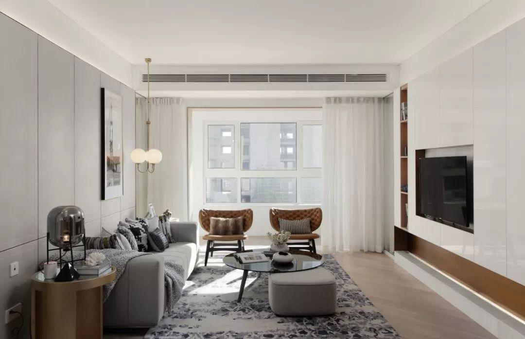 简约却不简单,时尚而不繁杂的客厅装修
