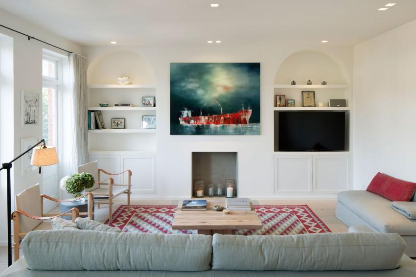 客厅的细节之处令人称赞。