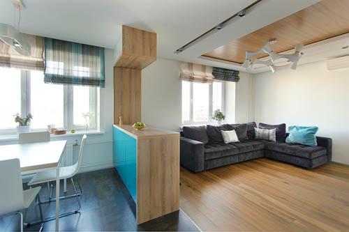 设计师除了实现屋主的愿望以外,还特别规划了工作室,为空间增添几分设计感。
