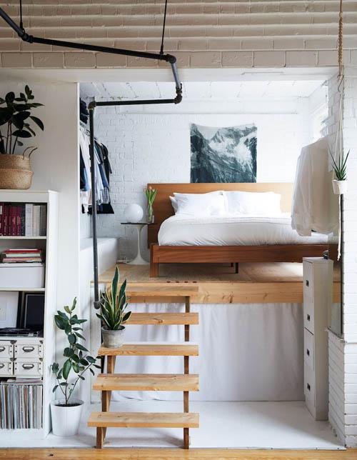 温馨舒适的卧室,适合卸下一天疲惫舒服的休息