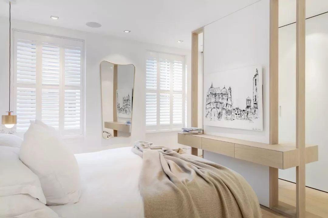 一个漂亮的卧室时刻影响着我们的生活和心情