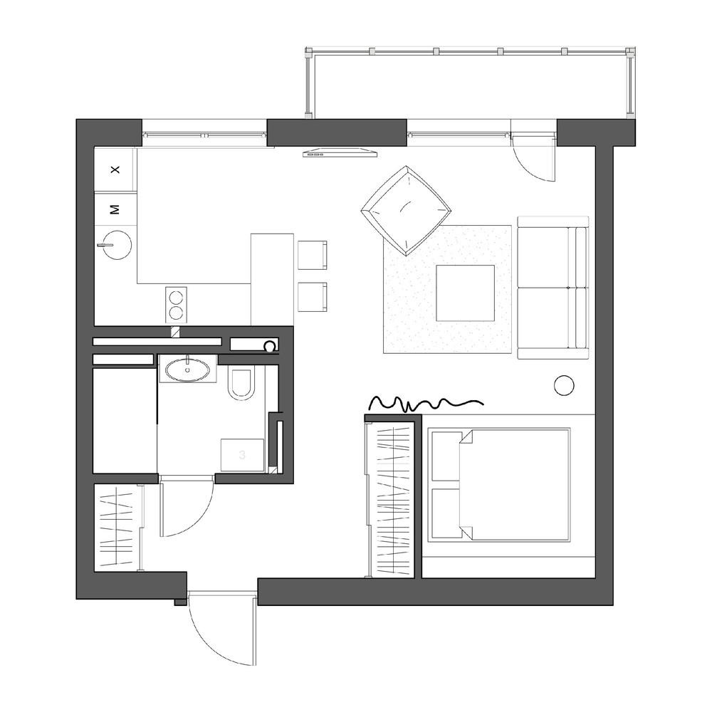 整体房子装修风格都是采用的美式简约,很是温馨呢