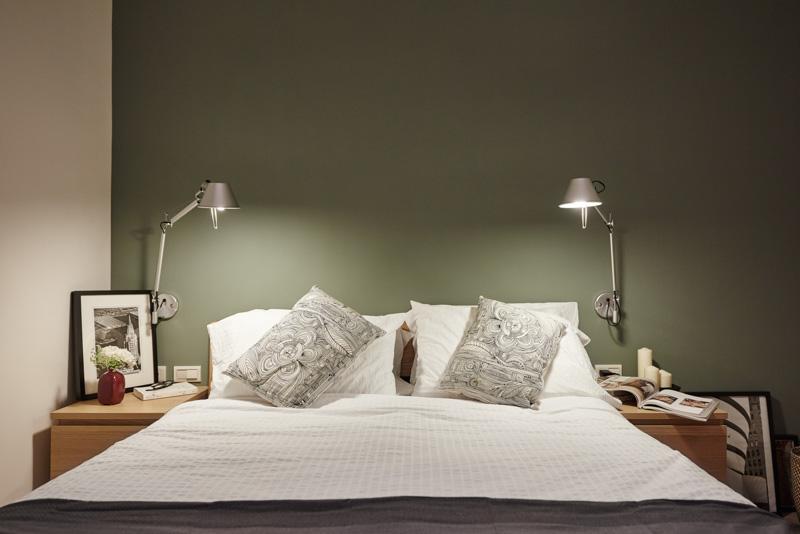 卧室既保留了房间的光线,又让整个空间不会因为小而压抑
