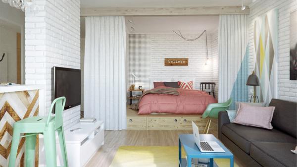 那你得赶快来看看这间公寓,你认为的不可能,它都办到了。