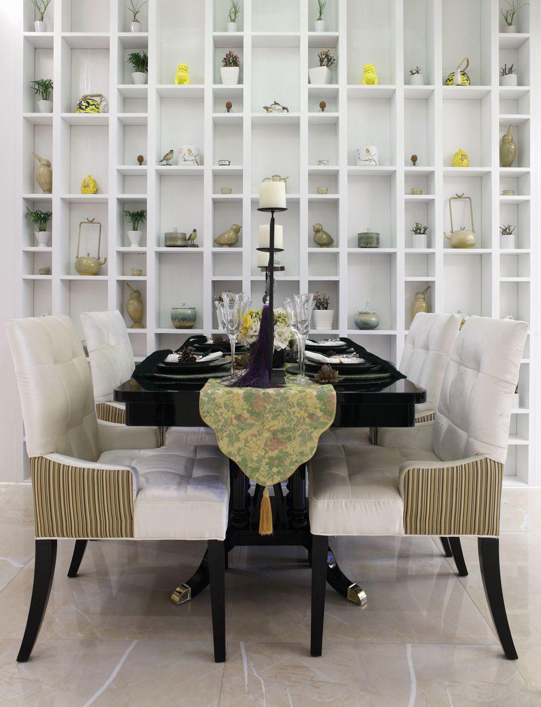 浅白色设计让整个空间都很显得很干净,居室主人一定是个非常有情调的人。