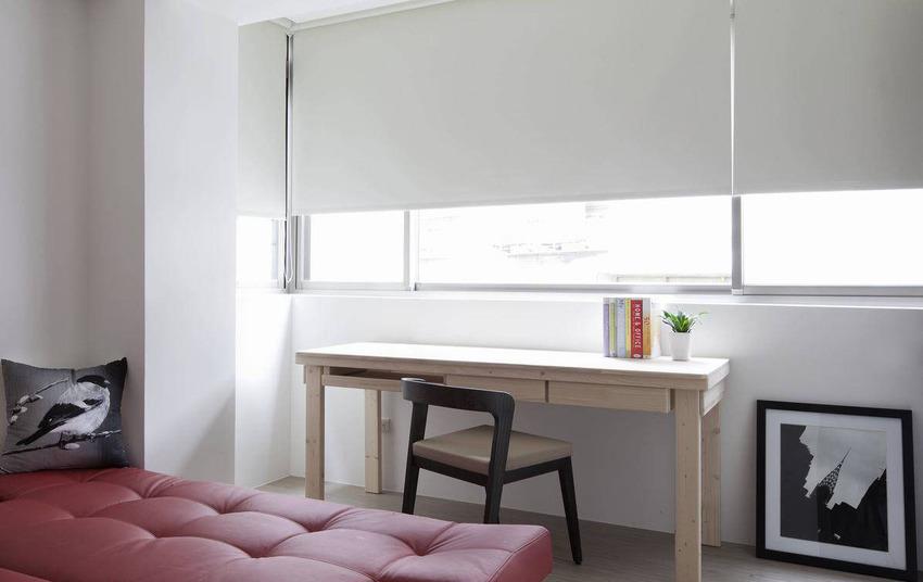 简单的家私,即使空间挪用部分于客卫使用,仍然十分雅适。