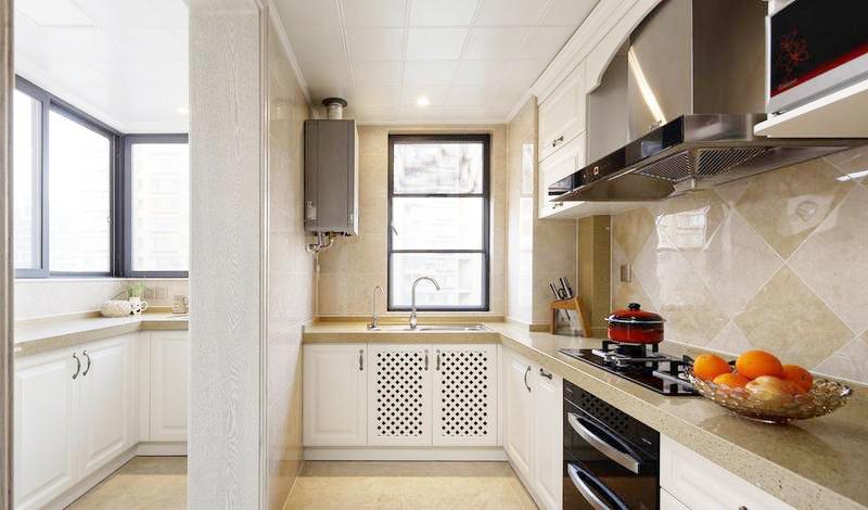内外厨的设置只有在拥有足够面积时才能布置,增加了更多的用途。
