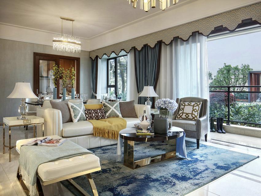 在居室风格的娇艳风潮中,看惯了奢华的法式空间。