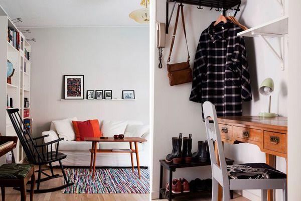 再小的空间,布置好了一样能井然有序,单凭这两张图,你一定不会认为只有30平米的房子。
