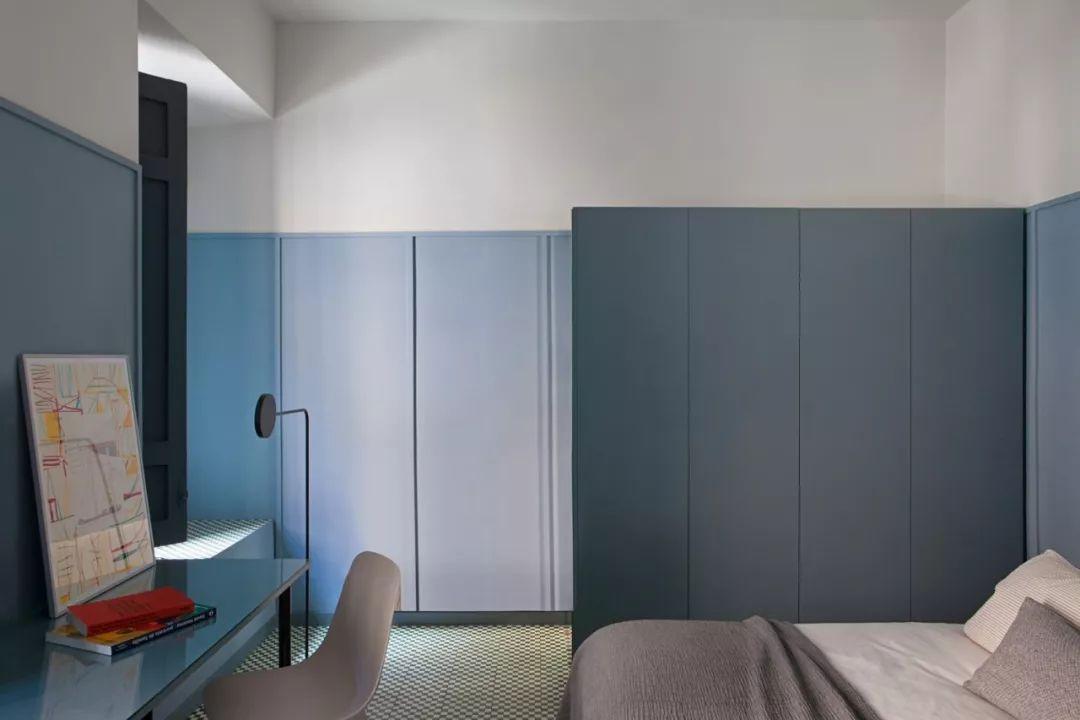 卧室是设计师考虑的重点。为了确保每个人都有特别的居住体验,每一间卧室都有自己的设计理念。