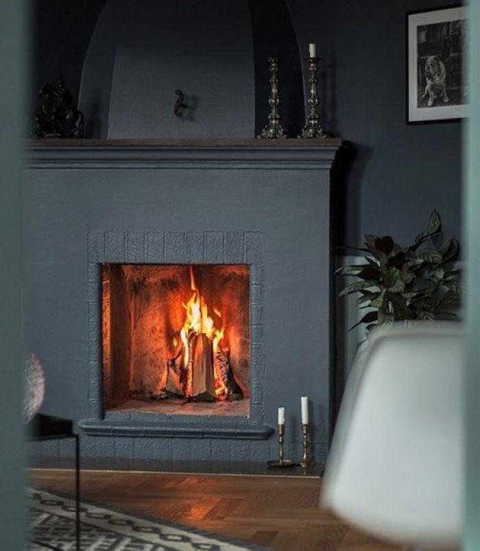 冬日取暖,除了空调,地暖,若是有个个性的壁炉,一定能为空间增色不少。