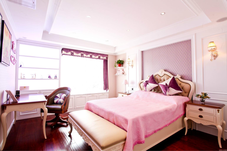 儿童房粉色为主,温暖而温馨