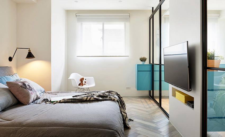 穿透设计配合光线贯穿与反射,造就室内温度感。